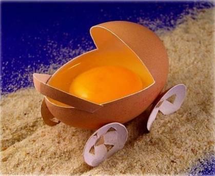 Food art egg 2
