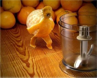 Food art orange 2