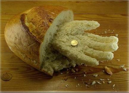 Food art bread