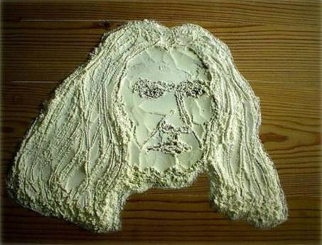 Food art flour