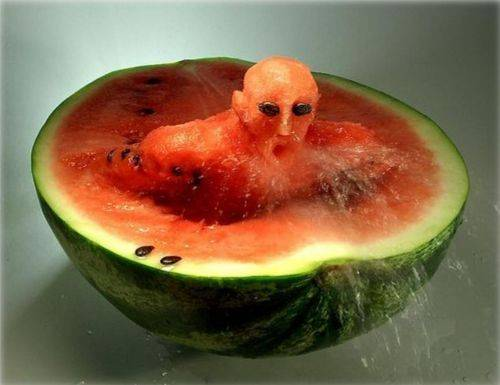 Food art watermelon 2
