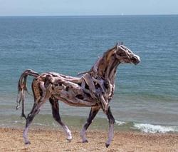 Horse_on_beach